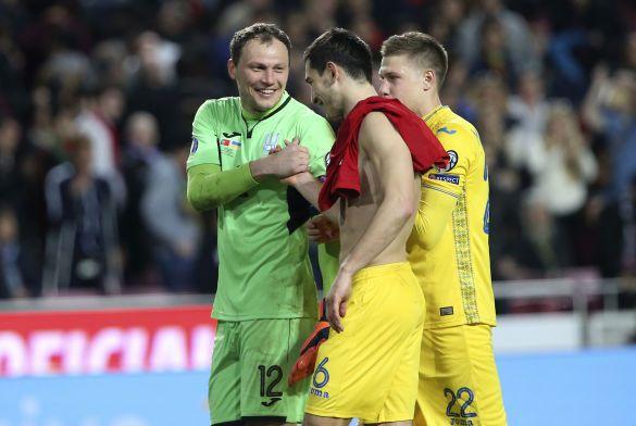 Пятов і Степаненко, португалія - україна - 0:0