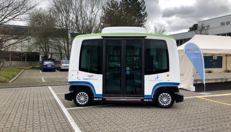 В Германии на маршрут выйдут автобусы без водителей