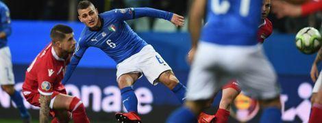 Відбір до Євро-2020. Італія познущалася над Ліхтенштейном, а Іспанія впевнено подужала Мальту
