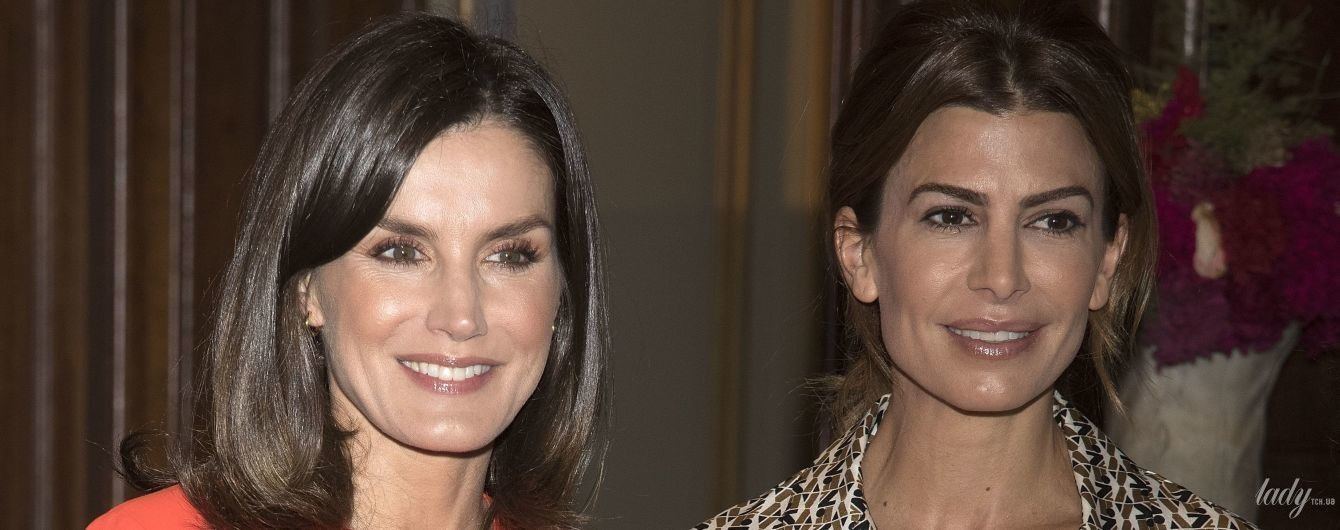 Одна другой красивее: королева Летиция и первая леди Аргентины на мероприятии в Буэнос-Айресе
