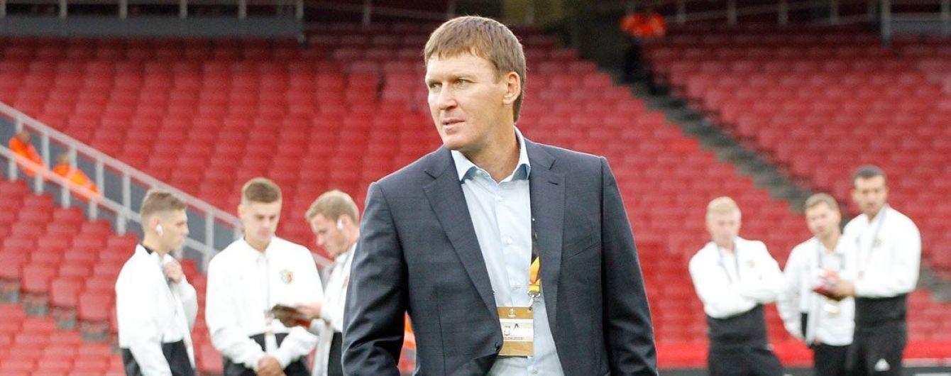 """""""Ворскла"""" объявила об отставке тренера, он работал с командой почти 6 лет"""