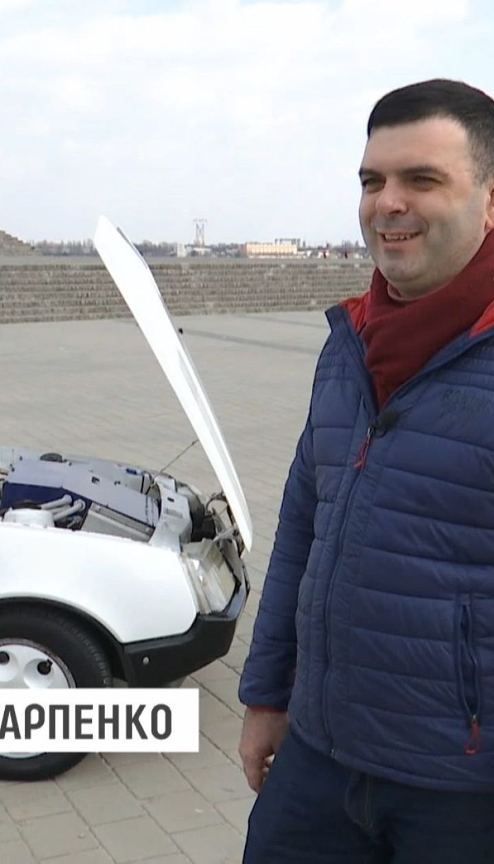 Группа энтузиастов из Днепра собственноручно спроектировала электромобиль