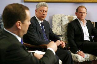 Суд решил исследовать российские заявления Бойко и Медведчука на сепаратизм