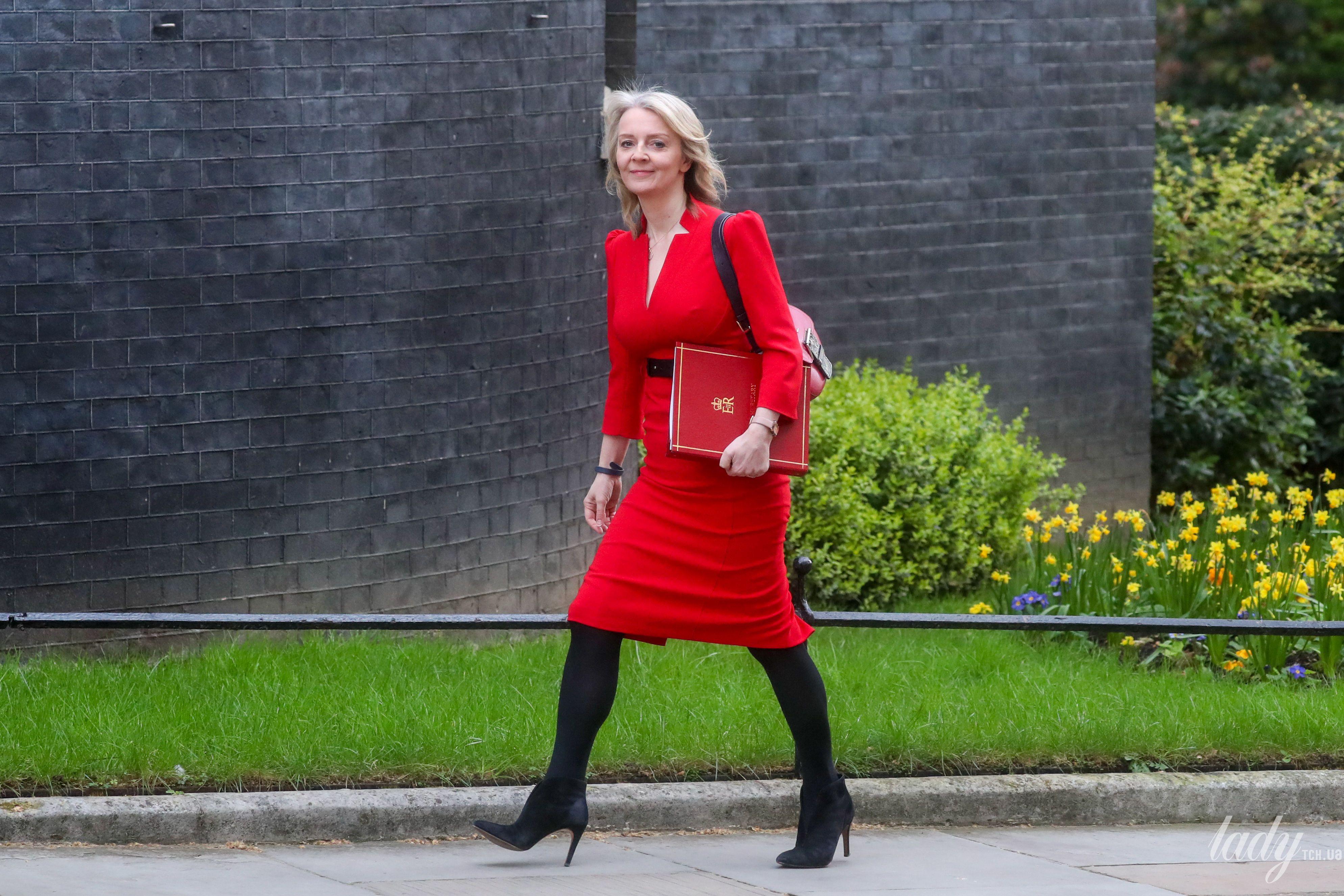 Секретарь казначейства Великобритании Элизабет Трасс