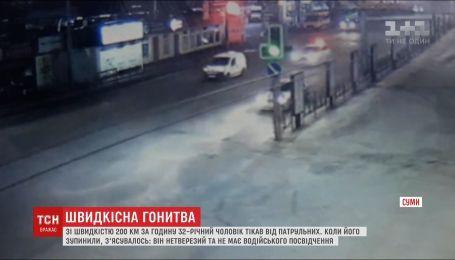 Гонки с патрульными и скорость 200 км/ч: нетрезвый водитель убегал от полиции