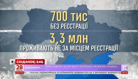 "Повлияла ли на украинцев замена ""прописки"" на ""регистрацию"""