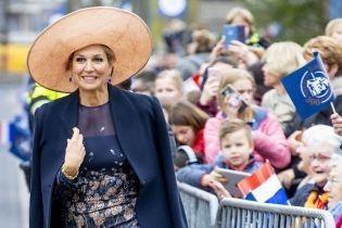 Такая элегантная: королева Максима впечатлила красивым образом на светском мероприятии в Лишауте