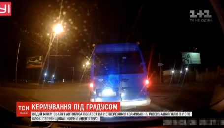 В девять раз превышало норму содержание алкоголя в крови водителя автобуса