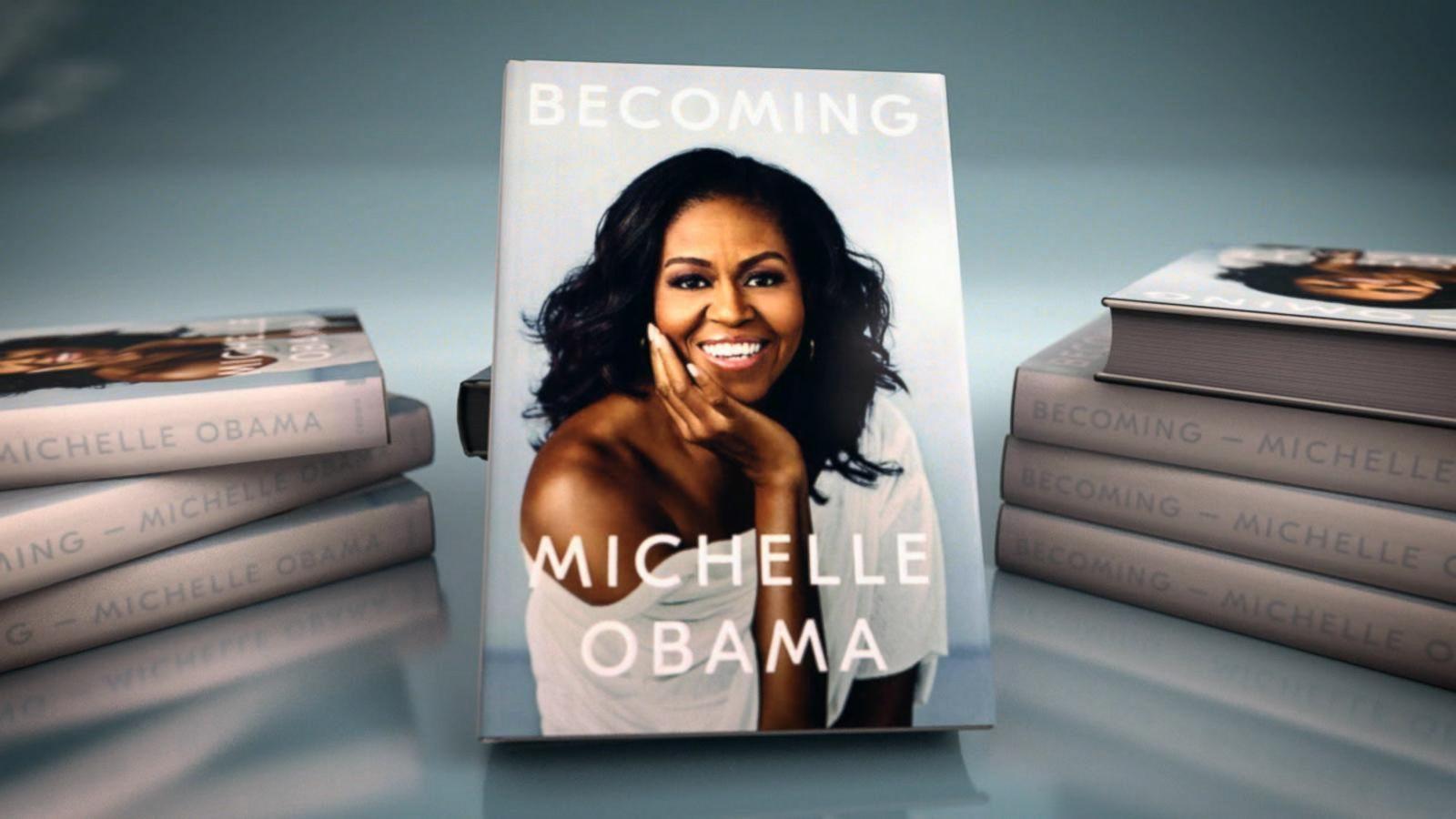 Мішель Обама книжка Becoming