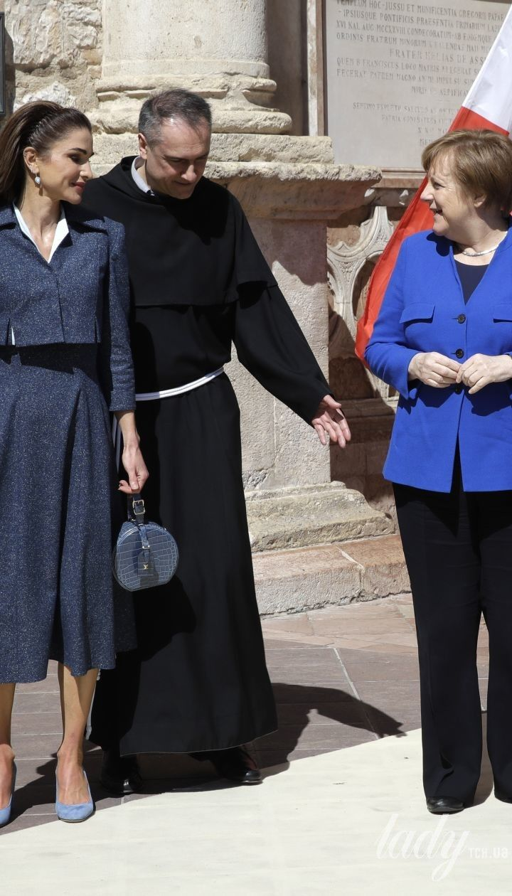 Королева Ранія і король Абдалла II