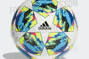 Представлен официальный мяч Лиги чемпионов-2019/20