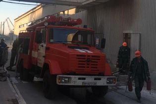 В Черноморске в порту прогремел взрыв, есть пострадавшие
