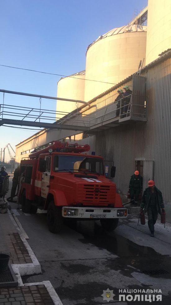 У Чорноморську в порту прогримів вибух, є постраждалі