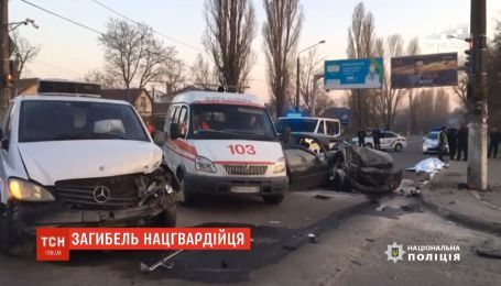 Автівка на євробляхах збила трьох нацгвардійців в Одесі