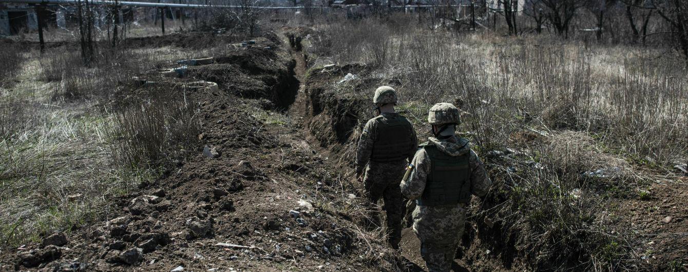 Боевики убили украинского военного, еще двое ранены - штаб ООС