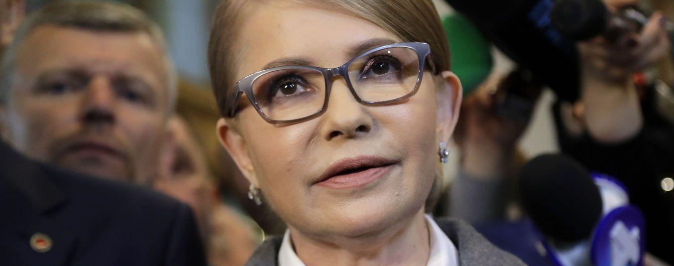 Тимошенко не признала данные экзит-поллов и заявила, что проходит во второй тур выборов