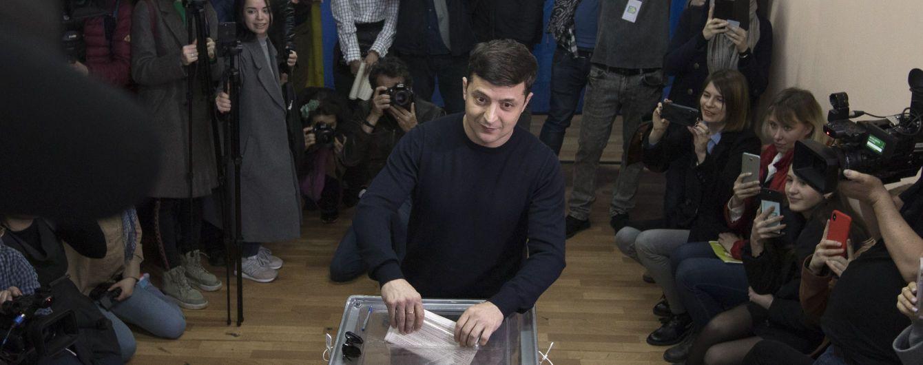 Зеленський і Порошенко проходять до другого туру виборів президента - Національний екзит-пол
