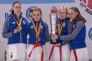 Жіноча збірна України з карате стала чемпіоном Європи