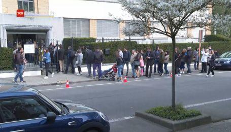 Українці у Бельгії проявили велику активність на виборах президента