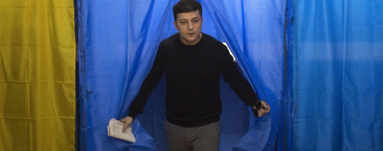 Екзит-пол ТСН: Зеленський впевнено перемагає у першому турі виборів президента України