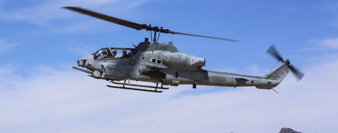 В США в результате падения вертолета погибли двое военных
