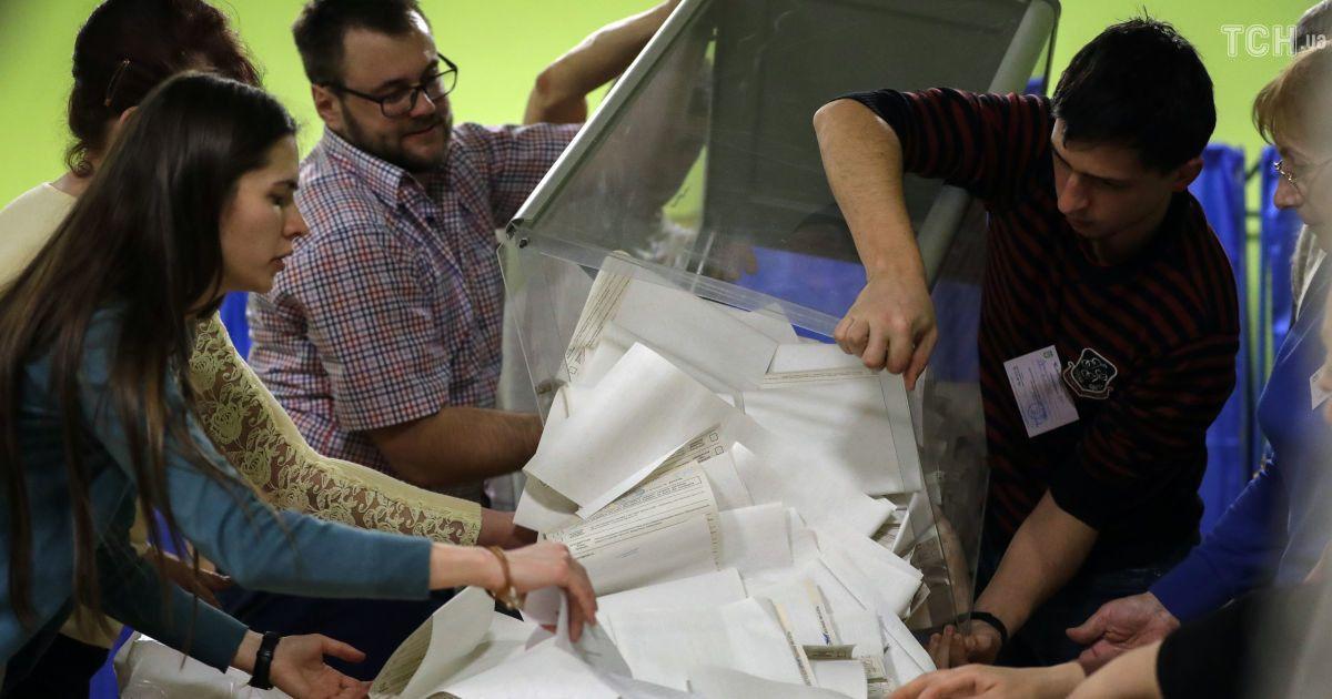 Результати голосування: ЦВК підрахувала третину протоколів, Зеленський лідирує з великим відривом
