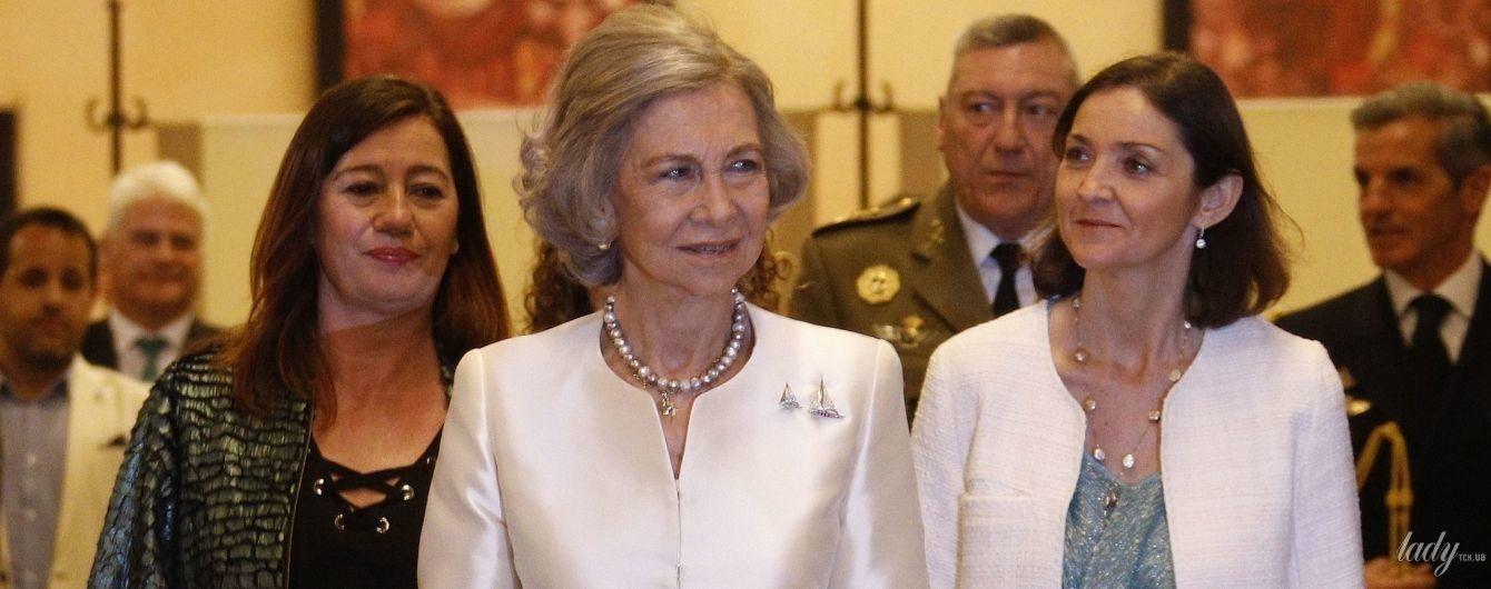 Має блискучий вигляд: 80-річна королева Софія відвідала світський захід