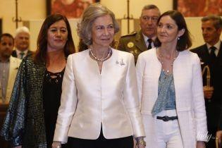 Выглядит блестяще: 80-летняя королева София посетила светское мероприятие