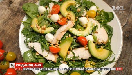 Как приготовить вкусный и полезный салат