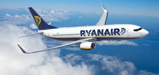 Ryanair збільшить частоту польотів за чотирма маршрутами з України