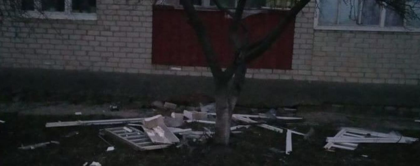 На Харківщині в будинку стався вибух газу – є постраждалі