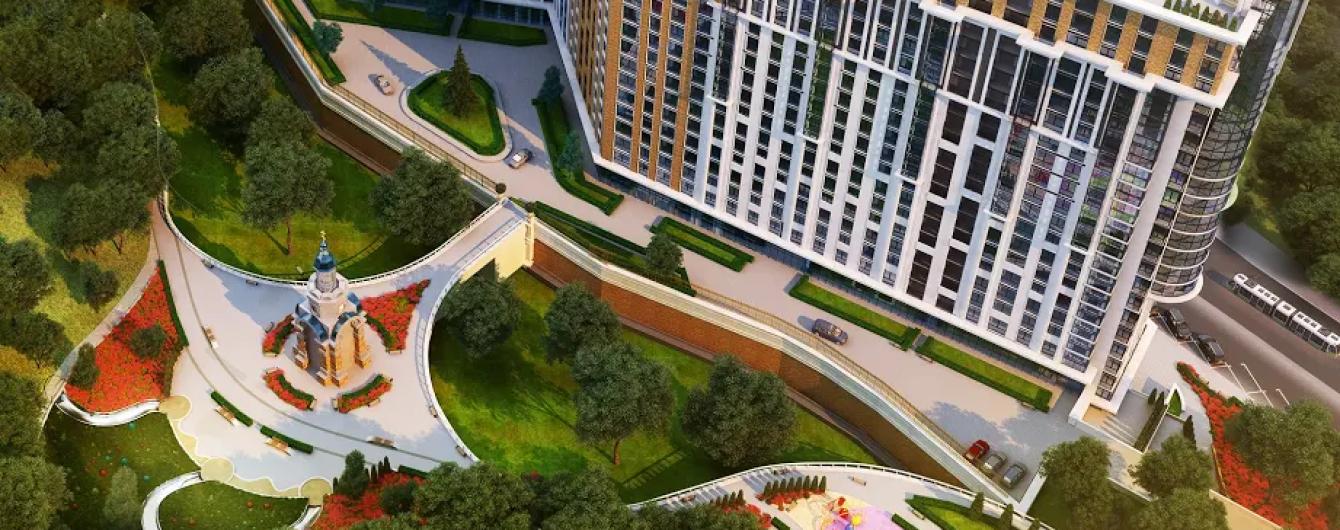 Подол Плаза Резиденс – ЖК с торгово-офисным центром