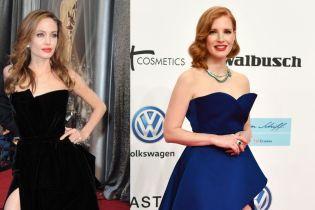 Одной левой: Джессика Честейн решила повторить успех правой ноги Анджелины Джоли