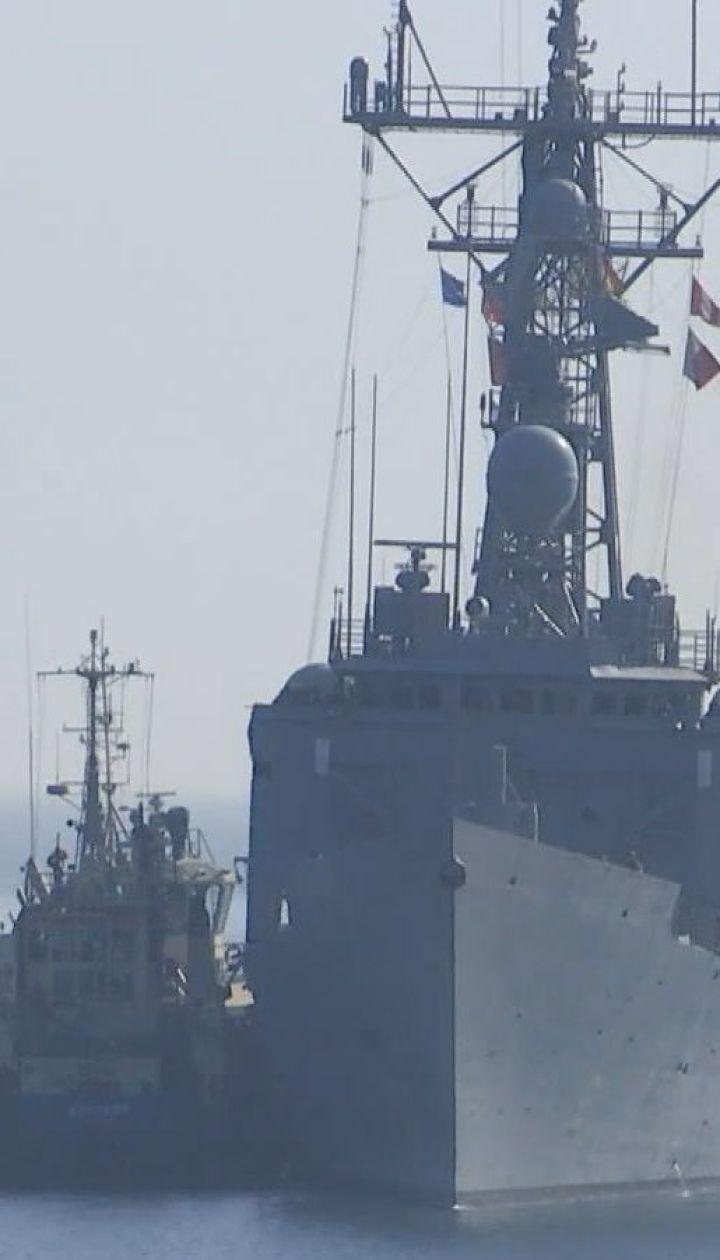 Біля Одеси пришвартувалися два фрегати НАТО