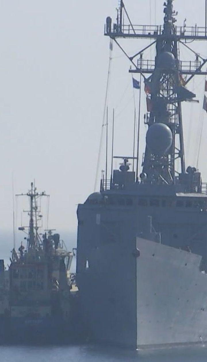 Возле Одессы пришвартовались два фрегата НАТО