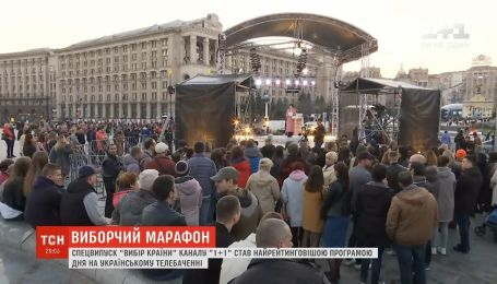 Спецвыпуск ТСН в день выборов посмотрели 11 миллионов зрителей