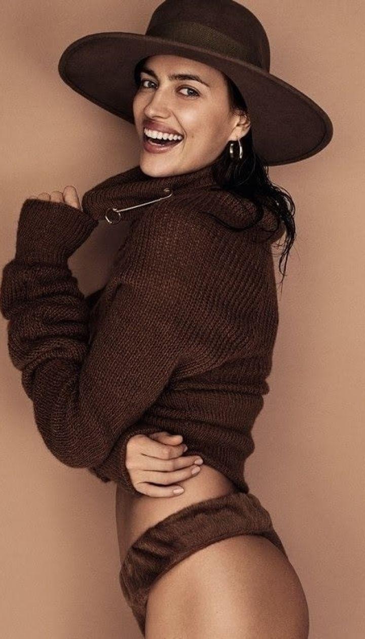 Ирина Шейк в фотосете для Vogue Brazil