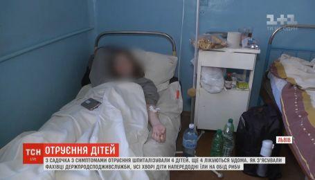 Во Львове воспитанников детсада госпитализировали с симптомами острой кишечной инфекции