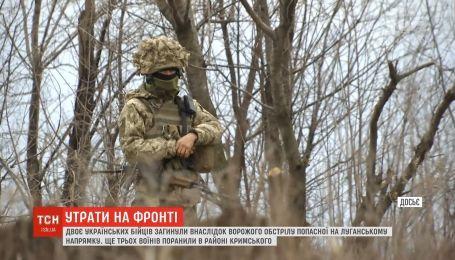 На восточном фронте двое украинских бойцов погибли в результате вражеского обстрела
