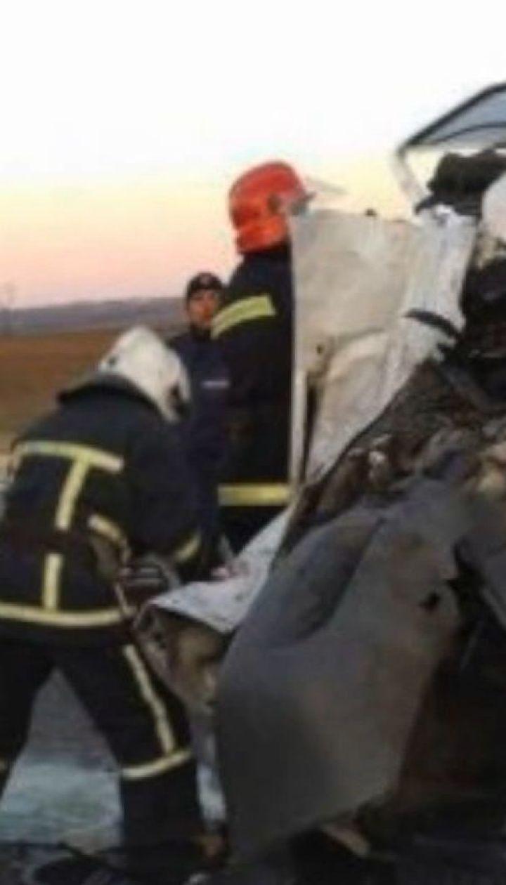 Смертельна ДТП на Одещині: зіткнулися два мікроавтобуси та маршрутка