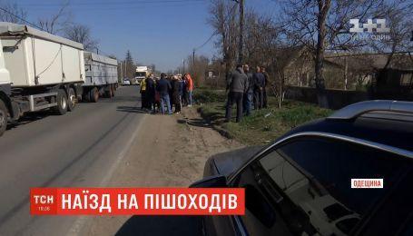 На Одещині нетверезий водій збив на узбіччі двох жінок