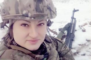 Порошенко посмертно наградил погибшую пулеметчицу Яну Червону
