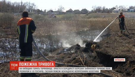 Екологи прирівнюють випалювання сухостою до екологічного лиха в Україні