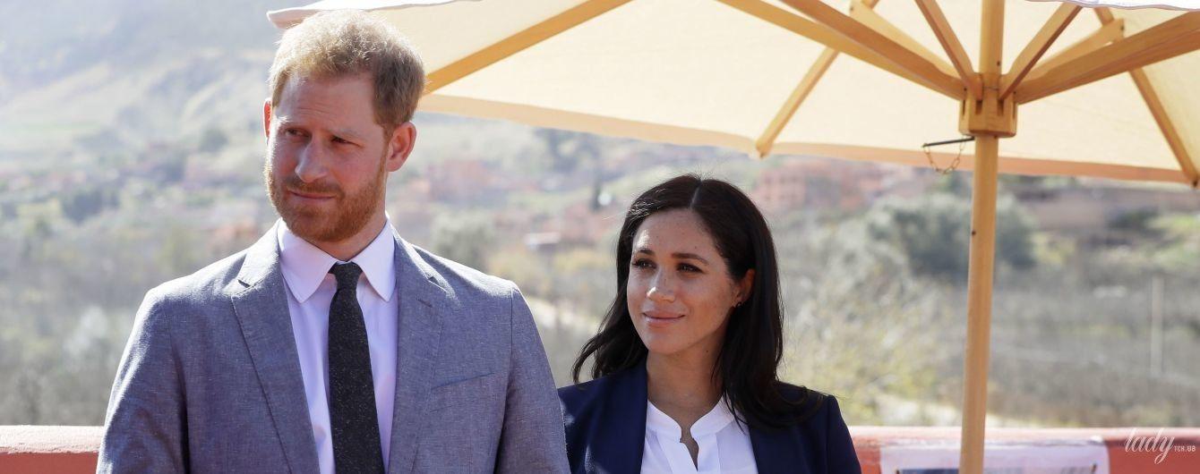 Герцогиня Сассекская и принц Гарри зарегистрировали личный аккаунт в Instagram