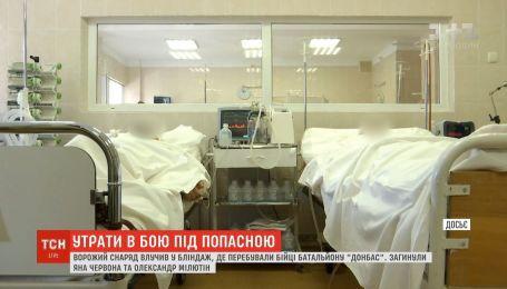 """Вражеский снаряд унес жизни двух бойцов батальона """"Донбасс"""""""