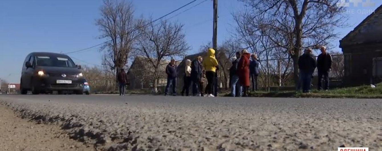 На Одещині селяни погрожують самосудом п'яному водію, який збив двох жінок і втік