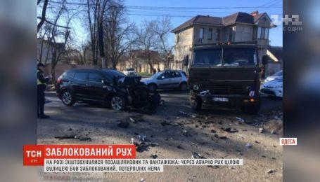Через аварію в Одесі зупинився рух цілою вулицею