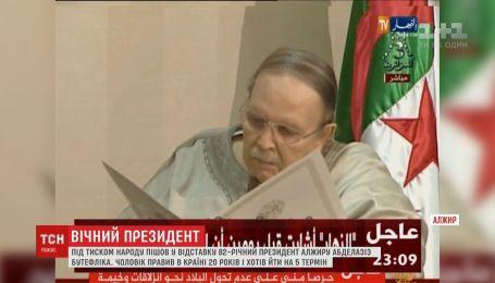 Алжирцы массово празднуют досрочное увольнение президента Бутафлики
