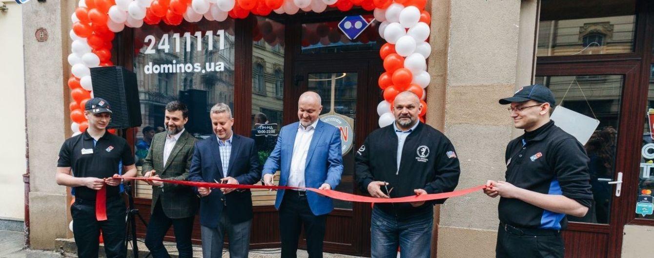 Domino's Pizza активно развивается во Львове и планирует открытие в других городах Украины