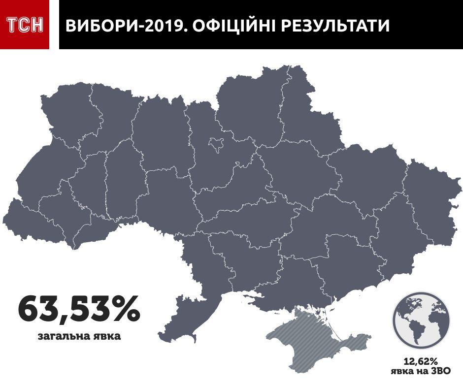 вибори карта оновлена